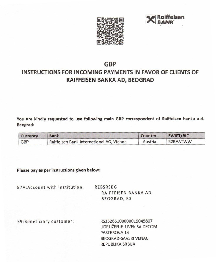instructions for incoming payments 1-gbp